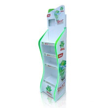 Store Cardboard Display Shelf, Advertising Paper Display Stand