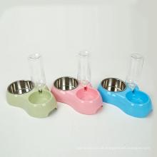 Pet Food Wasser Station der Katze Flasche und Schüssel für Katze Feeder Hund Schüssel Abdeckung