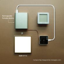 Shipping 100% original UIV oled panel light-DIY KIT double type