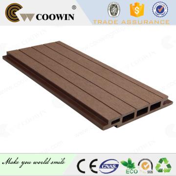 conception extérieure de panneau de mur en plastique en bois en bois