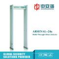 Multi- Launch Reception Post Verwenden Sie Archway Metal Detector