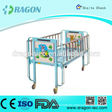 DW-CB01 Hot Sell Quality Hospital Children Bed with Wheels