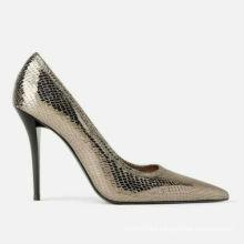 Woman New 2019 Shiny Animal Print High Heel Pumps Shoes Wedding Dress Shoes