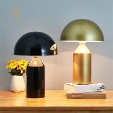 Metal Mushroom Design Led Living Room Table Lamp