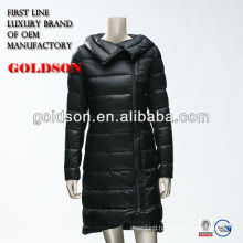 Winter Women Jacket Down Feather Filling Light Weight Long Style 2017