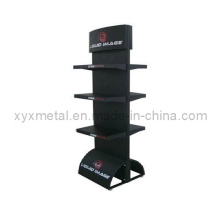 Steel Structure Advertising Board Double Sides Metal Pegboard Rack