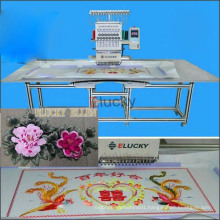 Large embroidery area single head embroidery machine for sale