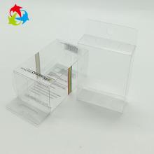 Caja plegable de plástico PET transparente desechable