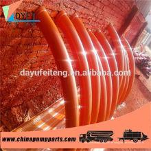 China Betonpumpe gehärtetem Aluminium Rohrbogen