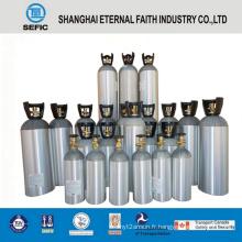 Cylindre de boisson de CO2 d'alliage d'aluminium de 13.4L (LWH203-13.4-15)