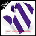 Corbata de seda personalizada bordada