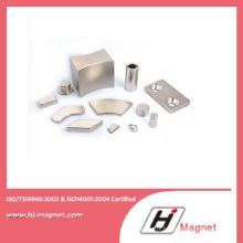 Aimant de NdFeB de forme diverses, conçu dans l'usine de la Chine avec une puissance élevée de l'industrie