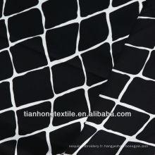 "57/58"" coton satin Spandex tissu imprimé"