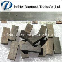 Segredo do mármore do corte do segmento do diamante do mármore da ponta do diamante do cortador do poder