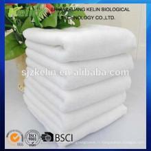 serviette de coton blanc