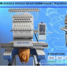 Автоматическая вышивальная машина HOLIAUMA Single Head 3D Embroidery Machine