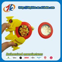 Новый дизайн пластиковых летающий диск Launcher игрушки для детей