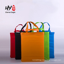 Wholesale reusable non woven storage tote bag