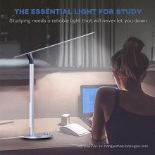 Lámpara de mesa recargable de la batería de la iluminación del diseño de la fábrica de China IPUDA llevada para la lámpara de lectura del escritorio de la lámpara del teble del estudiante en la noche del hogar