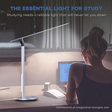Hotel de alta Qualidade e casa dupla luz resouce Proteção Para Os Olhos Dobrável Lâmpada de Mesa de Estudo