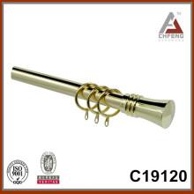 C19120 телескопический карниз, удлиняемый штанга для штор, металлический карниз, двойной карниз