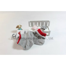 Double Cuff Sugar Color Summer Mesh Baby Cotton Socks