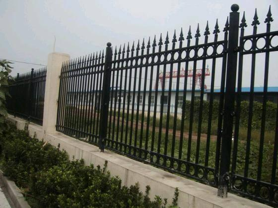 Welded security garrison fencing