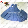 JannyBB boutique traje de chambray al por mayor