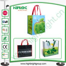 Laminierte gewebte Einkaufstasche für den Großhandel