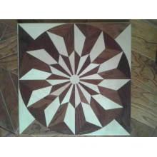 Star -Shaped Engineered Hardwood Floor / Parquet Flooring