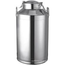 Godet à lait en acier inoxydable 10L-60L