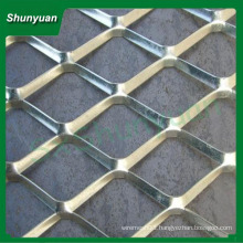 manufacture price diamond aluminum stretched metal mesh 50x100mm for decoration/curtain wall/ house-ceiling