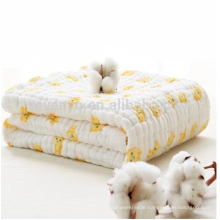 100% Organic Muslin Cotton Baby Bath Towels Also Warm for Baby Blanket,used for Sleeping/Cuddling/Play Time/Stroller Cover