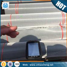 Trocadores de calor de peças de resistência à corrosão s32750 2507 super duplex de aço inoxidável pano de filtro / ss malha