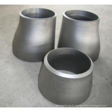 Acier au carbone et ajustement de tuyaux en acier inoxydable