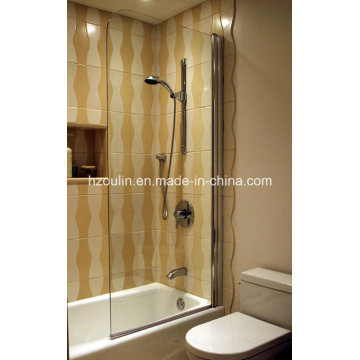 Clear Glass Frameless Shower Door Screen (SD-400 clear glass)