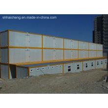 Maison facile à construire pour un camp de travail / Hôtel / Bureau / Hébergement (shs-fp-camp055)