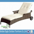 Fashionable and UV-proof outdoor chair sun lounger