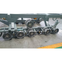 Track Chassis Assy of Combine Harvester Spare Parts