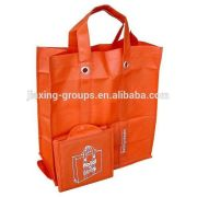 Popular foldable pp non woven bag with handle,easy carry and use, OEM orders are welcome