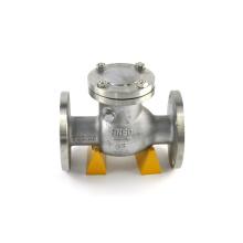 China fornecedor bs1868 fundição aço DN50 válvula de retenção de vácuo de gás com menor preço