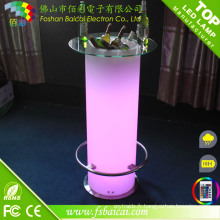 Table de barre LED rechargeable (BCR-874T)