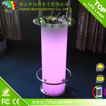 Table de barre LED rechargeable (BCR-874T)