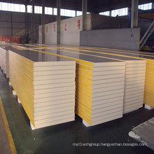 Corrugated PU Roof Sandwich Panels for Building