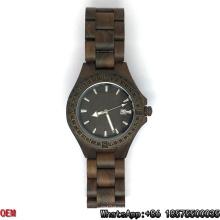 Relógios De Madeira De Alta Qualidade, Relógio De Quartzo, Relógio De Data Hl06