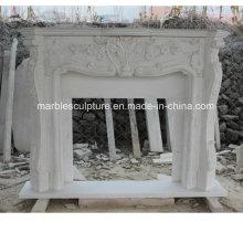 Prix de cheminée en marbre en usine (SY-MF216)