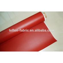 Caucho de silicio cubierto de tela de fibra de vidrio tela, tela de sílice de aislamiento de alta calidad con alta resistencia a la temperatura