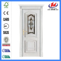 *JHK-M08 CS Carved Wood Panels India Internal Solid Doors Double Interior Doors