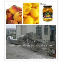 Máquina de procesamiento de alimentos enlatados / máquina de procesamiento de frutas
