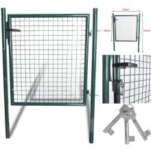 150 Cm X100 Cm Garman Standard Durable Heavy Duty Steel Backyard Porte verte Porte verte